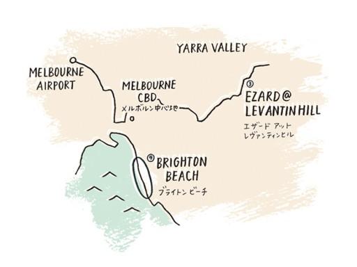 InRed5月号_メルボルン広域地図