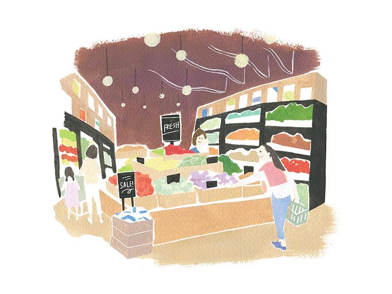 枚方T-SITE_スーパーマーケット
