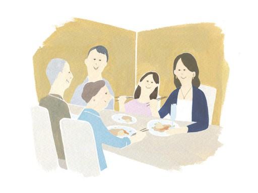枚方T-SITE_個室で会食